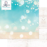 Websters Pages - Ocean Melody Collection - 12 x 12 Double Sided Paper - Sunlight