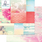 Websters Pages - Ocean Melody Collection - 12 x 12 Double Sided Paper - Ocean View