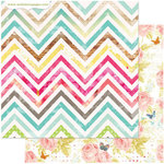 Websters Pages - Nest Collection - 12 x 12 Double Sided Paper - My Style