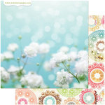 Websters Pages - Nest Collection - 12 x 12 Double Sided Paper - Life's Fabric