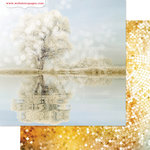 Websters Pages - All That Glitters Collection - Christmas - 12 x 12 Double Sided Paper - Reflect
