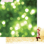 Websters Pages - All That Glitters Collection - Christmas - 12 x 12 Double Sided Paper - Catch a Star