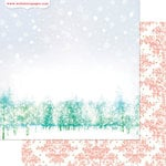 Websters Pages - All That Glitters Collection - Christmas - 12 x 12 Double Sided Paper - A New Year