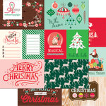 Websters Pages - Gingerbread Village Collection - Christmas - 12 x 12 Double Sided Paper - Storyteller Card Sheet I