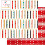 Websters Pages - Hall Pass Collection - 12 x 12 Double Sided Paper - Playful Pencils