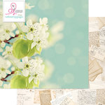Websters Pages - Beautiful Chic Collection - 12 x 12 Double Sided Paper - In Bloom