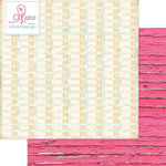 Websters Pages - Beautiful Chic Collection - 12 x 12 Double Sided Paper - Alphabetize
