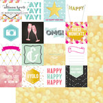 Websters Pages - Happy Collection - 12 x 12 Double Sided Paper - These Moments