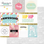 Websters Pages - Happy Collection - 12 x 12 Double Sided Paper - HipHipHooray