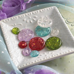 Websters Pages - Sparklers - Non Adhesive Designer Buttons - Fall Variety