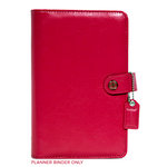 Websters Pages - Color Crush Collection - Personal Planner Binder - Dark Pink