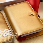 Websters Pages - Color Crush Collection - Personal Planner Binder - Gold, COMING SOON
