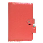 Websters Pages - Color Crush Collection - Personal Planner Binder - Light Pink