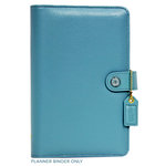 Websters Pages - Color Crush Collection - Personal Planner Binder - Sky