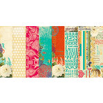 Websters Pages - Seaside Retreat Collection - 12 x 12 Paper Sampler Kit, CLEARANCE