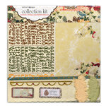 Websters Pages - Botanical Christmas Collection - 12 x 12 Paper Sampler Kit