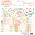 Websters Pages - Growing Up Girl Collection - 12 x 12 Collection Pack