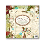 Websters Pages - Petite Papers - Christmas - 6 x 6 Holiday Collection Combo Paper Pack - Home for the Holidays and Winter's Wings