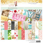 Websters Pages - All That Glitters Collection - Christmas - 12 x 12 Collection Pack