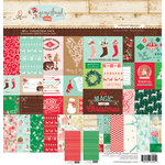 Websters Pages - Gingerbread Village Collection - Christmas - 12 x 12 Collection Pack