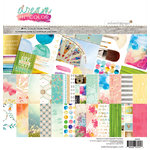 Websters Pages - Dream in Color Collection - 12 x 12 Collection Kit