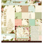 Websters Pages - Winter's Wings Collection - 12 x 12 Paper Sampler Kit