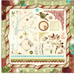 Websters Pages - Home for the Holidays Collection - Christmas - 12 x 12 Die Cut Cardstock Stickers - Holidays and Wings Combo, CLEARANCE