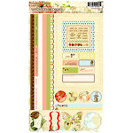 Websters Pages - Lullaby Lane Collection - Cardstock Stickers - Image and Phrase, CLEARANCE