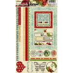 Websters Pages - Waiting for Santa Collection - Christmas - Cardstock Stickers - Image and Phrase