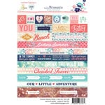 Websters Pages - Ocean Melody Collection - Cardstock Stickers - Word