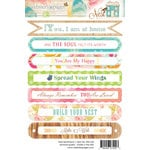 Websters Pages - Nest Collection - Cardstock Stickers - Sentiments