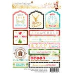 Websters Pages - All That Glitters Collection - Christmas - Cardstock Stickers - Tag and Prompt