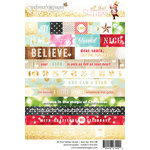 Websters Pages - All That Glitters Collection - Christmas - Cardstock Stickers - All That Glitters Words