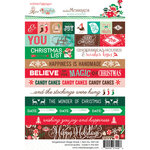 Websters Pages - Gingerbread Village Collection - Christmas - Cardstock Stickers - Word