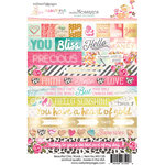 Websters Pages - Beautiful Chic Collection - Cardstock Stickers - Words