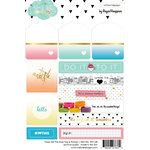 Websters Pages - These Are The Days Collection - Cardstock Stickers - Tags and Prompts