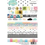 Websters Pages - These Are The Days Collection - Cardstock Stickers - Words