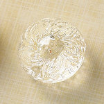 Websters Pages - Sparklers - Non Adhesive Designer Buttons - Medallion - Small - Clear
