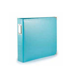We R Memory Keepers - Albums Made Easy - Classic Leather - 8 x 8 - Three Ring Albums - Aqua