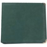 Hiller 3 Ring Albums - 12 x 12 Hunter Green
