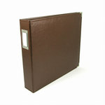 We R Memory Keepers - Classic Leather - 12 x 12 - Three Ring Albums - Dark Chocolate