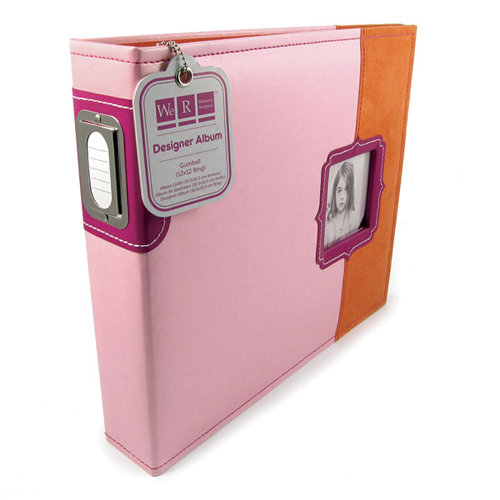 We R Memory Keepers - Designer - 12 x 12 - Three Ring Albums - Gumball