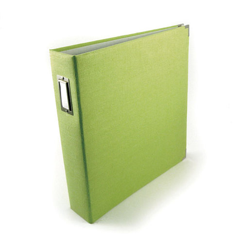 We R Memory Keepers - Linen - 12 x 12 - Three Ring Albums - Keylime