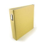 We R Memory Keepers - Linen - 12 x 12 - Three Ring Albums - Butter