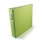 We R Memory Keepers - Linen - 12 x 12 - Postbound Albums - Keylime