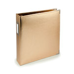 We R Memory Keepers - Classic Leather - 8.5 x 11 - Three Ring Albums - Gold