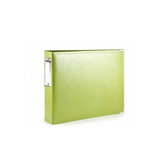 We R Memory Keepers - Albums Made Easy - Classic Leather - 4 x 6 - Two Ring Albums - Kiwi