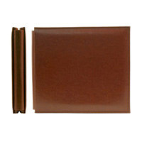 We R Memory Keepers - Classic Leather - 8x8 - Post Bound Albums - Nutmeg