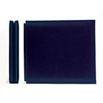 We R Memory Keepers - Classic Leather - 6x6 - Post Bound Albums - Navy, CLEARANCE