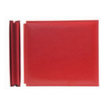 We R Memory Keepers - Classic Leather - 6x6 - Post Bound Albums - Real Red, CLEARANCE